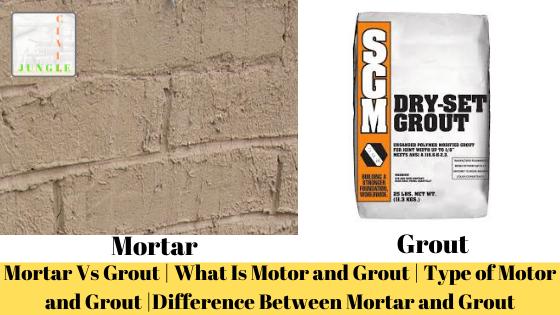 Mortar Vs Grout