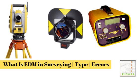 EDM in surveying