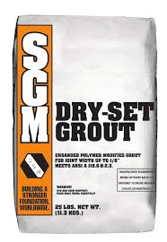 Dry-Set Grout