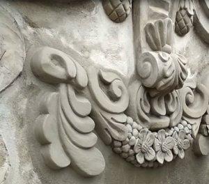 Decorative mortar