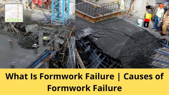 Formwork Failure