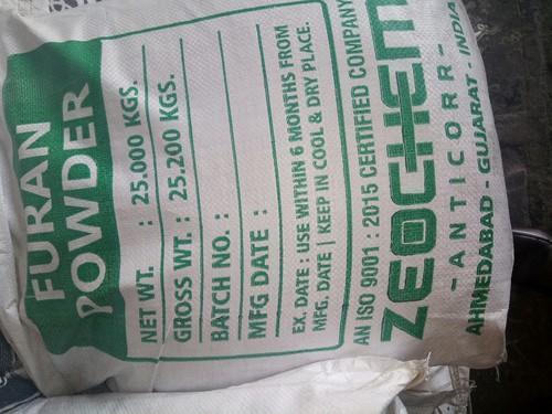 Furan Polymer Concrete