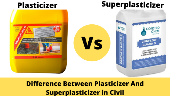 Difference Between Plasticizer And Superplasticizer in Civil