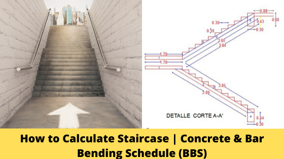 How To Calculate Staircase Concrete