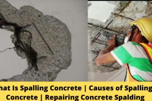 Repairing Concrete Spalding