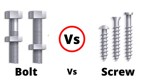 Bolt Vs Screw-2