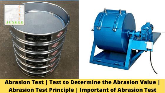 Abrasion Test _ Test to Determine the Abrasion Value _ Abrasion Test Principle _ Important of Abrasion Test