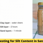 Testing for Silt Content in Sand