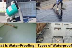 What Is Water-Proofing   Types of Waterproofing