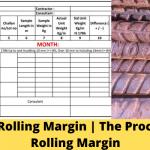 Rolling Margin