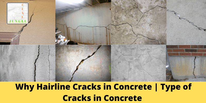 Why Hairline Cracks In Concrete Type Of Cracks In Concrete