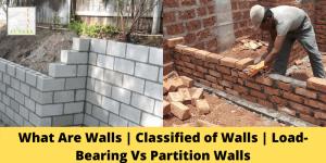 Load-Bearing Vs Partition Walls