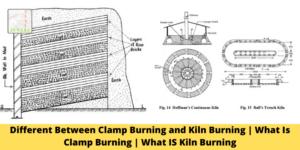 Clamp Burning and Kiln Burning