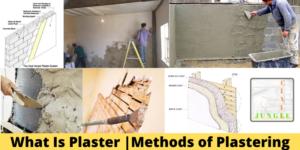 Methods of Plastering